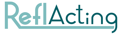 Logo Reflacting, trainingsacteur inhuren